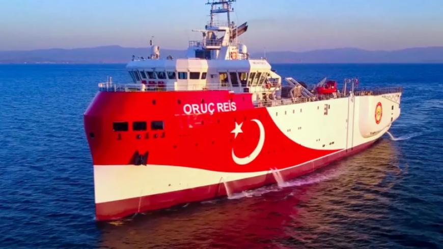 سفينة «أوروتش رئيس» التركية