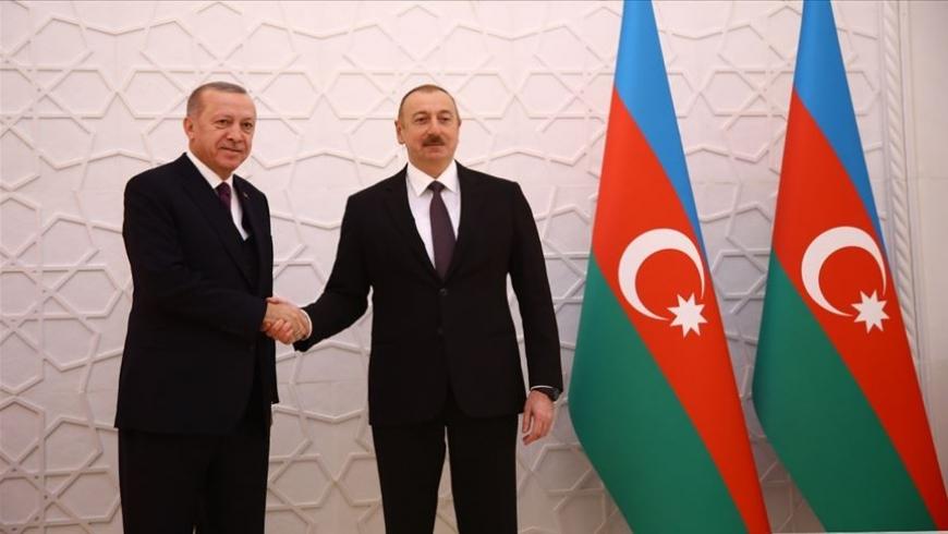 الرئيسان التركي والأذري