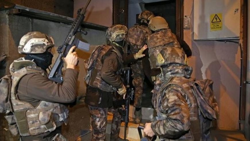 قوات مكافحة الإرهاب التركية