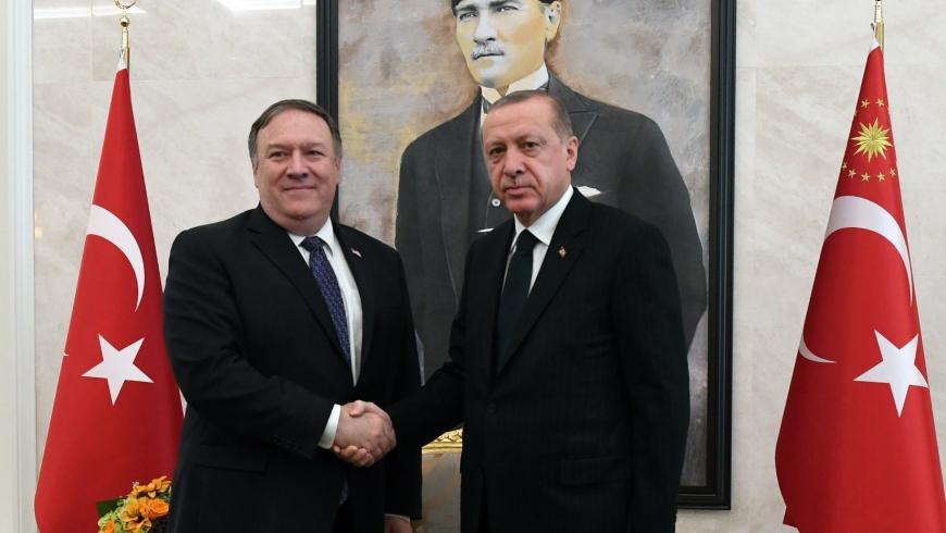 أردوغان وبومبيو