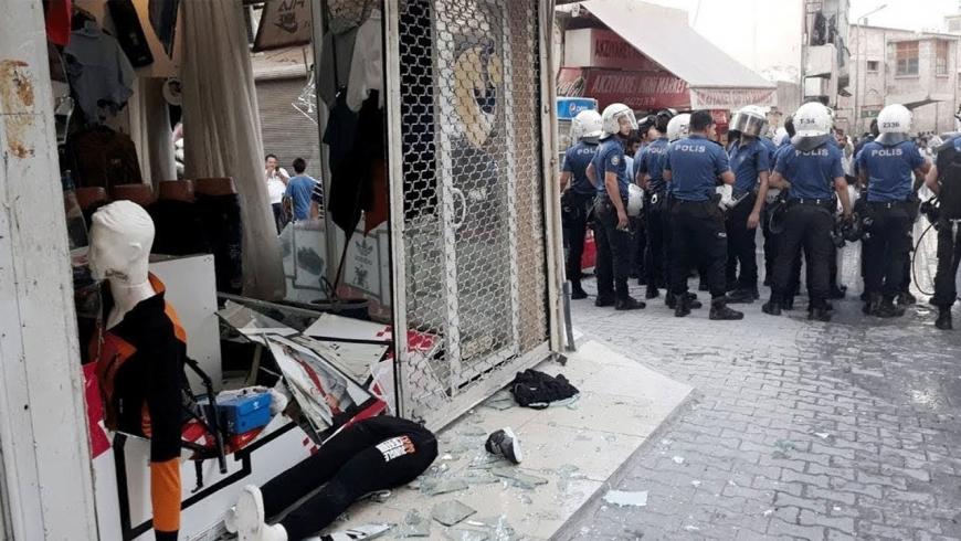 ضرب السوريين في تركيا