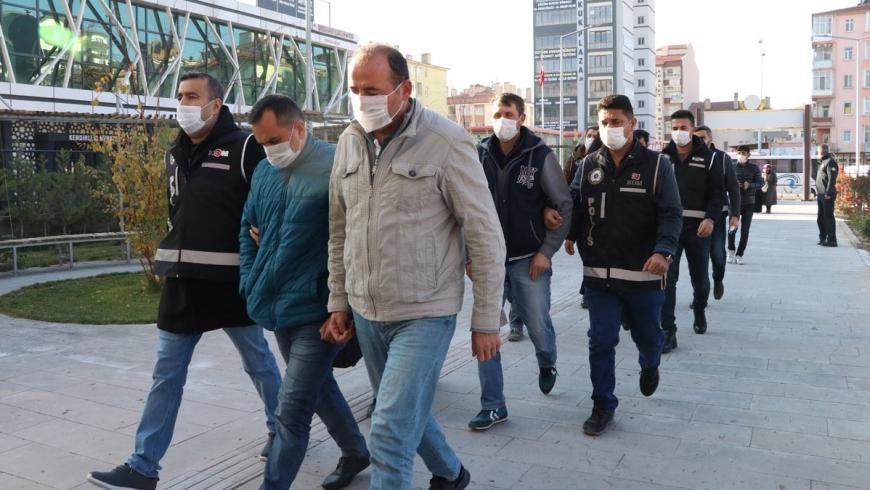 حملات اعتقالية في تركيا
