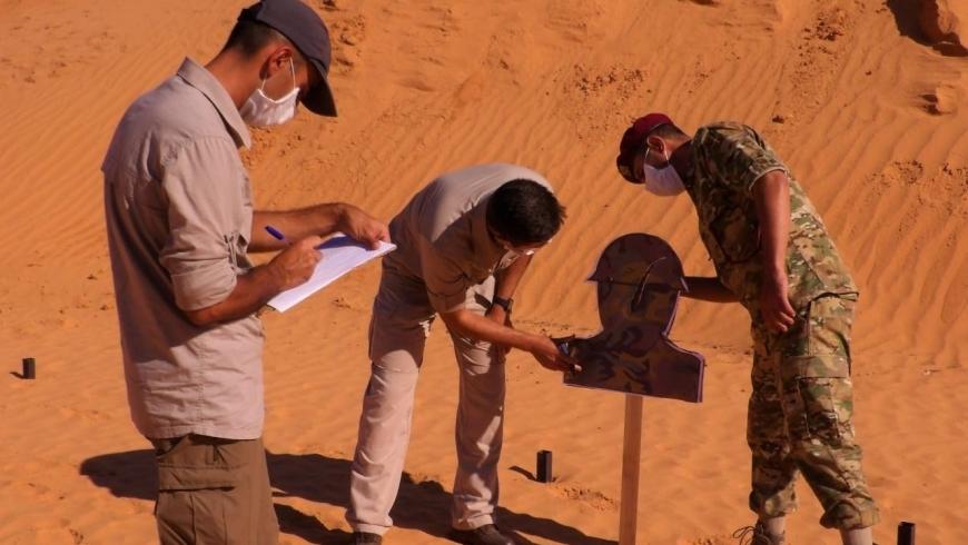 تدريبات عسكرية في ليبيا
