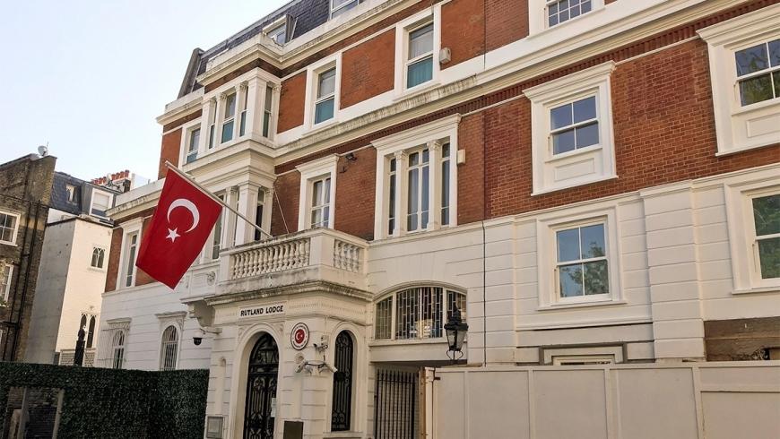 القنصلية التركية في لندن.