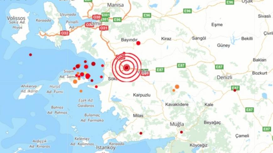 زلزال بمدينة أيدن