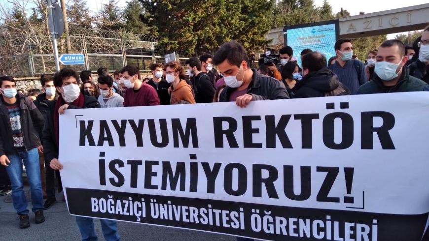 صورة باران من الاحتجاجات
