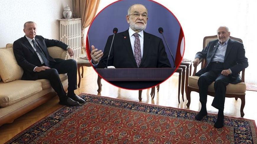 زيارة أردوغان لــ أصيلتورك مع صورة لــ كرم الله أوغلو