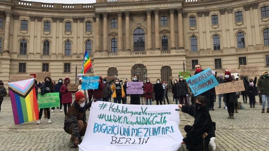وقفة احتجاجية ببرلين