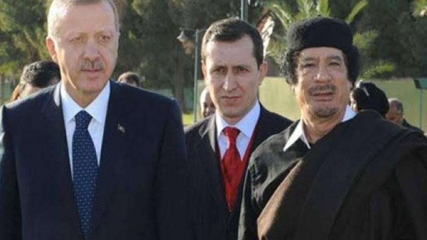 أمر الله إيشلر يتوسط القذافي وأردوغان
