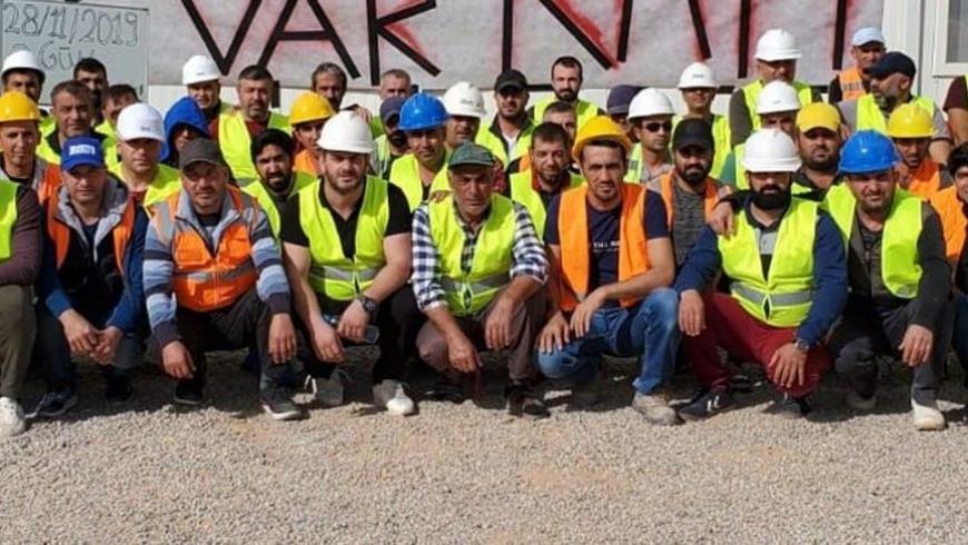 العمال الأتراك