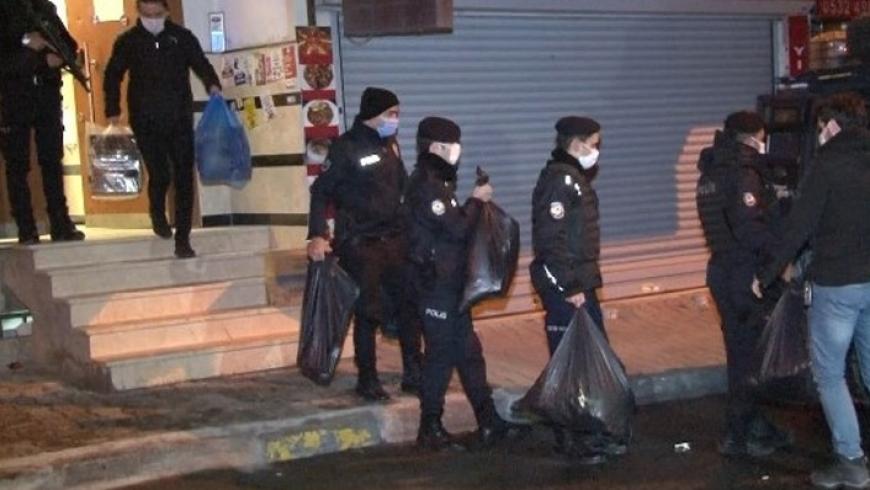 الشرطة تداهم مقر حزب الشعوب