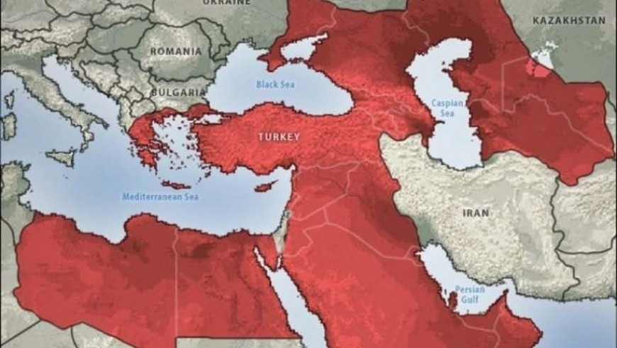 خريطة تركيا 2050