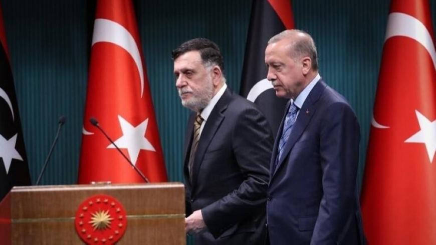 فايز السراج وأردوغان