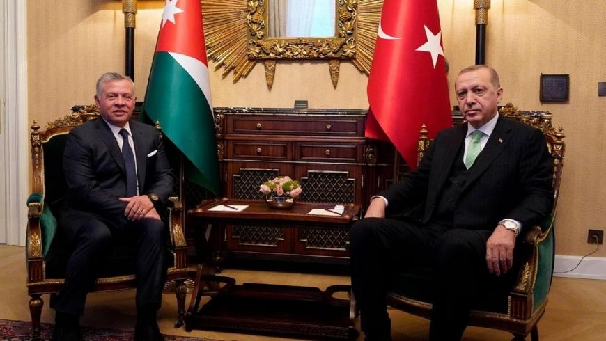 أردوغان وملك الأردن