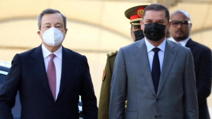 رئيس حكومة إيطاليا ونظيره الليبي
