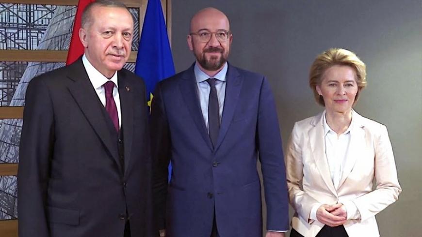 قادة الاتحاد الأوروبي في تركيا