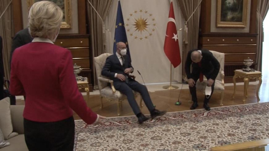 لقاء أردوغان وقادة الاتحاد الأوروبي