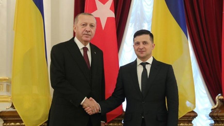 أردوغان ورئيس أوكرانيا