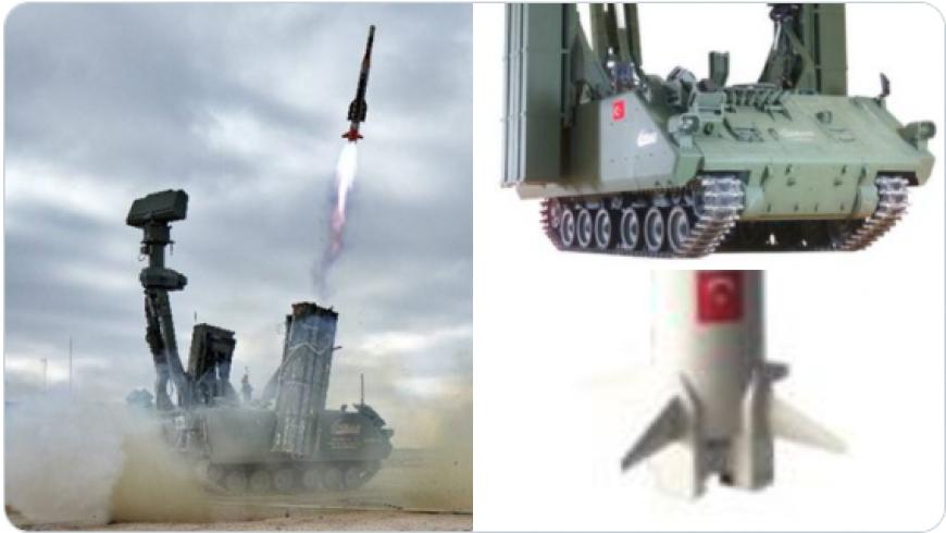 منظومة الدفاع الجوي التركية «أ حصار»