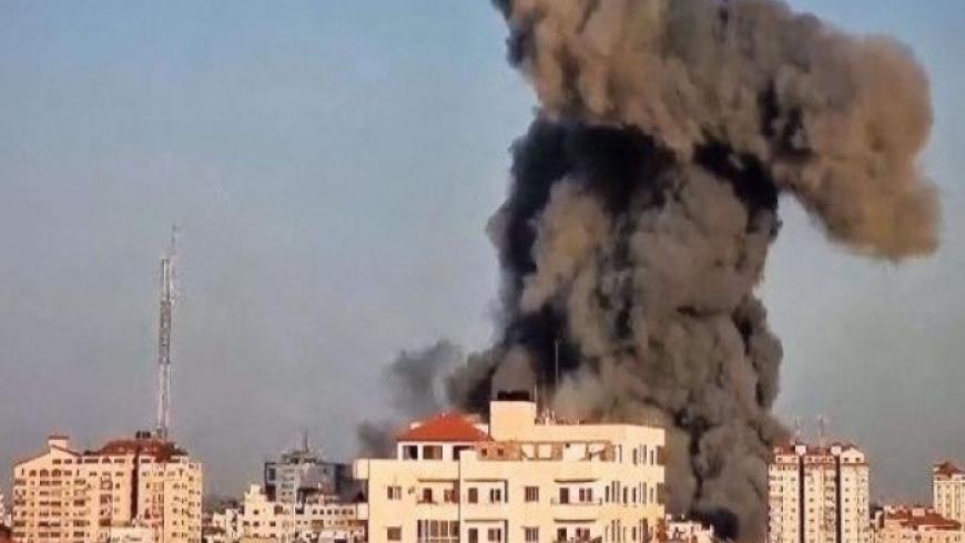 برج الشروق بغزة