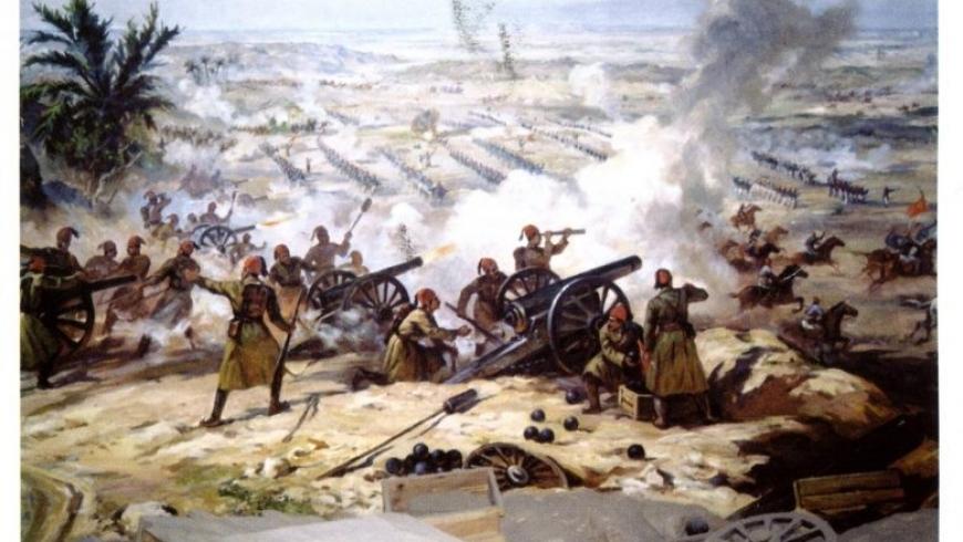 الحرب المصرية التركية