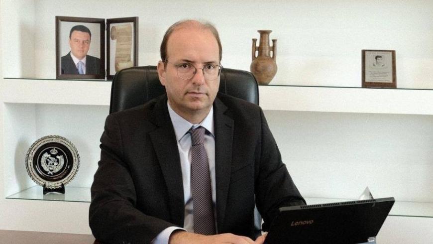 وزير الدفاع القبرصي