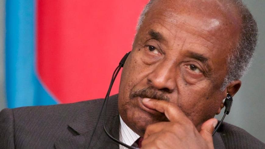 وزير خارجية إريتريا عثمان صالح