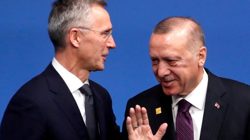 أردوغان والأمين العام لحلف الناتو
