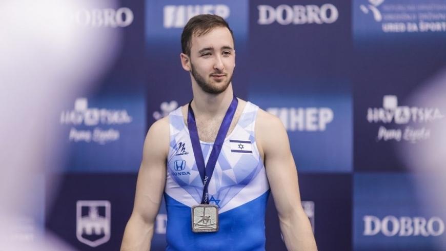 لاعب المنتخب الإسرائيلي للجمباز