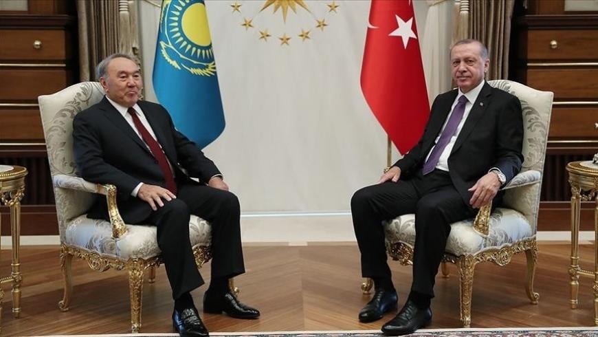 رئيس كازاخستان وأردوغان