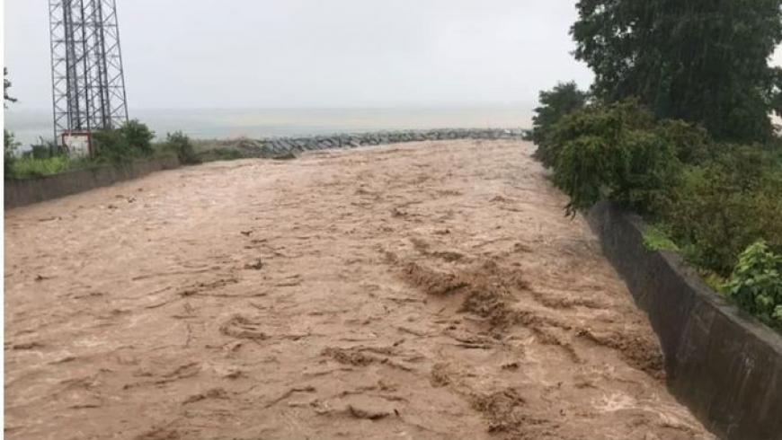 فيضانات مدينة ريزه التركية