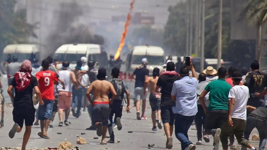الاحتجاجات التونسية- أرشيفية