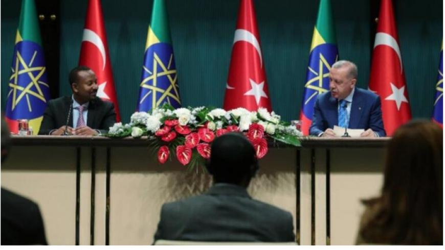 أردوغان وآبي أحمد