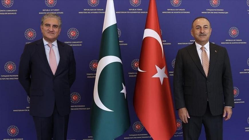 جاويش أوغلو ونظيره الباكستاني