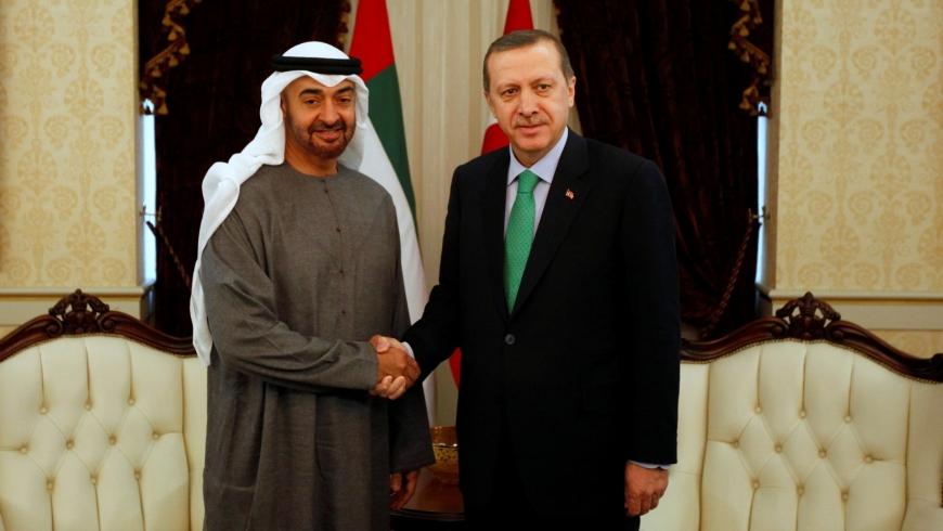 أردوغان ومحمد بن زايد آل نهيان