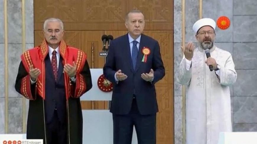أردوغان وعلي أرباش ومحمد أكارجا