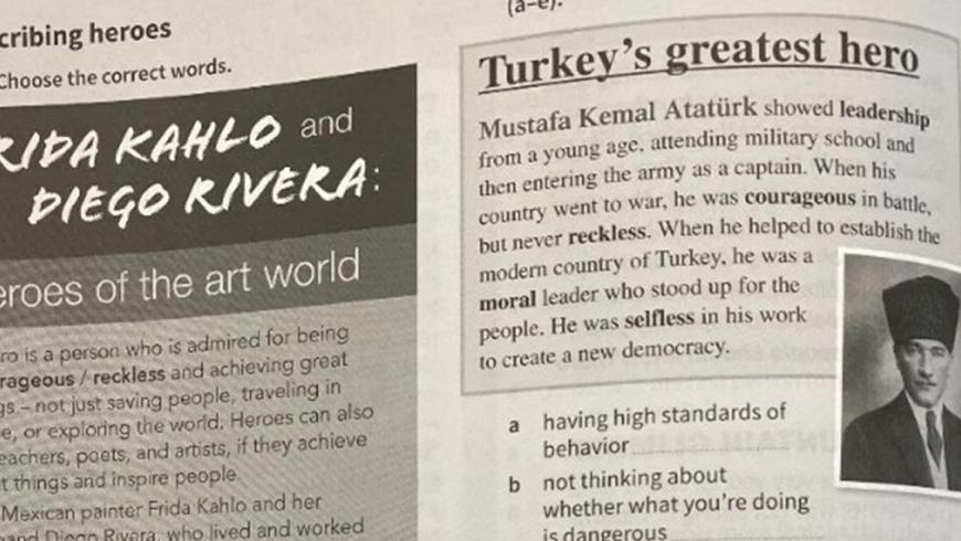 حذف أتاتورك من الكتب اليونانية