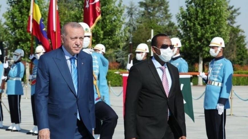آبي أحمد وأردوغان