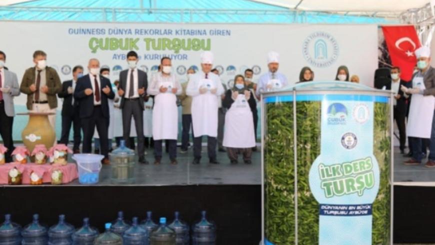إعداد المخلل بجامعة تركية