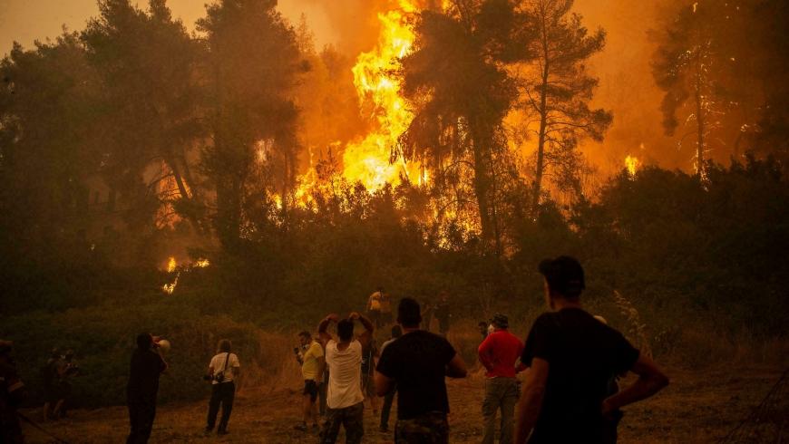 الحرائق في تركيا