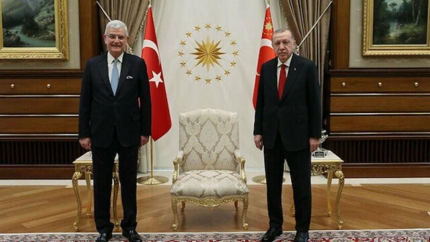 أردوغان وفولكان بوزكير