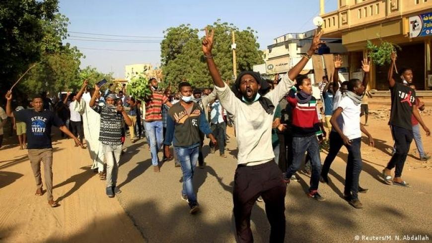 احتجاج في السودان