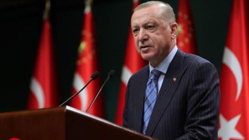أردوغان من البث المباشر