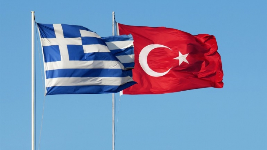 علما تركيا واليونان