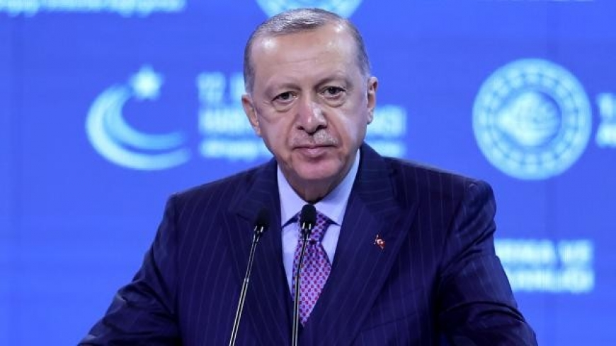 أردوغان من البث