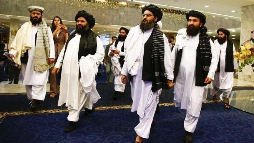 وفد طالبان