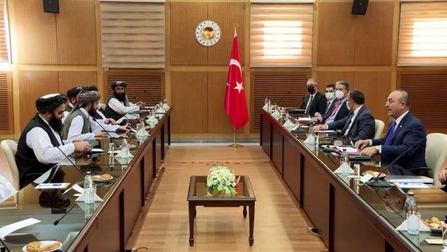 من اجتماع الوفد التركي ووفد طالبان