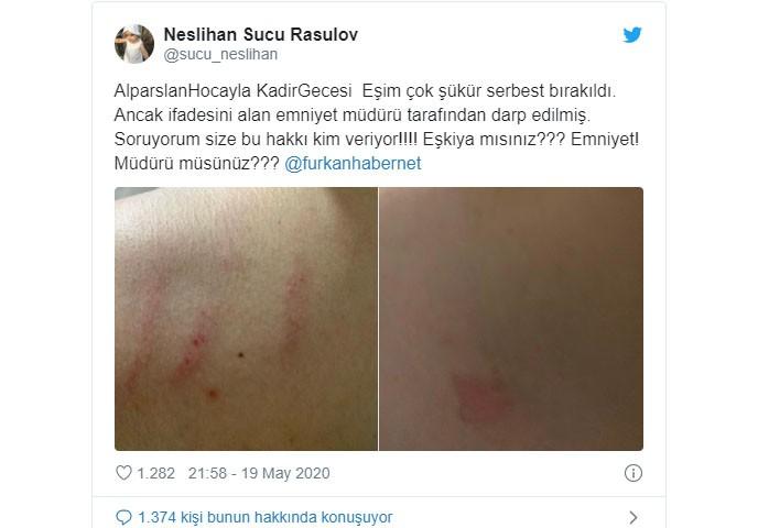 الشرطة التركية تعتقل مواطن بسبب لافتة أهلًا رمضان