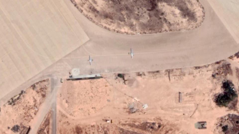 Aircraft around the city of Sirte