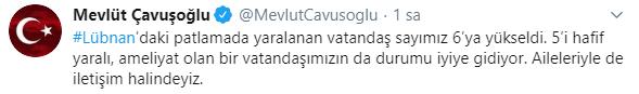 تغريدة جاويش أوغلو
